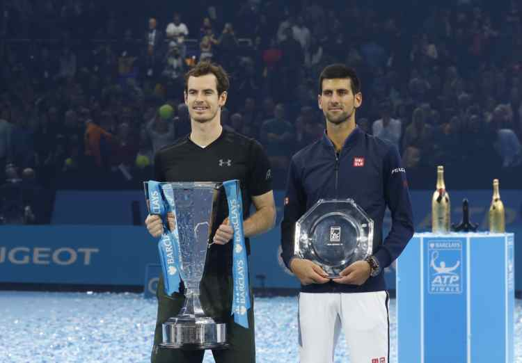 Murray vann finalen i London i december 2016